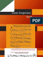 Canto Gregoriano-Kyrie II