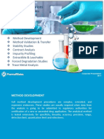 Analytical Services- Pharmaffiliates