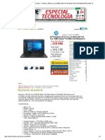 PC Factory • Tu Centro Tecnológico • Notebook..250.G5.Core.i3-5005U.8GB.1TB.156.AMD.radeon.R5.M430.2GB.windows