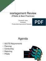 QSGNE Presentation - Management Review - PIN 4-30-04