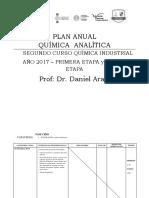 Plan Quimica Analitica