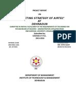 579. KishanMarketing Strategies of Airtel Ppppp