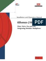 Manual Kilomux