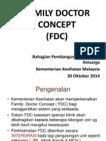 PERANCANGAN KONSEP DOKTOR KELUARGA DI KEMENTERIAN KESIHATAN KKM MALAYSIA