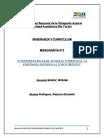 Universidad Nacional de La Patagonia Austral- N 5- ALEJANDRA RODRIGUEZ- EL CALAFATE