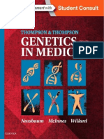 Thompson & Thompson Genetics in Medicine, 8e (Jun 4, 2015)_(1437706967)_(Elsevier)