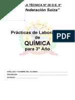 Práctica de Laboratorio Quimica 3ro 2016 Versión Final