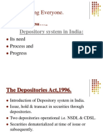 21056363 Depository System in India Needs and Progress