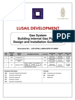 Internal Gas Piping Design and Installation Guidelines