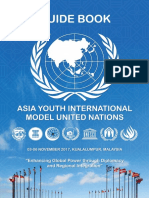 Guide Book to Asia Youth International Model United