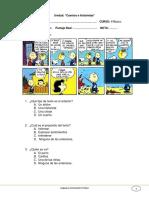 Prueba Comics y Cuentos n 5 Lenguaje 3 Basico