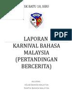 LAPORAN  AKTIVITI   KARNIVAL  BAHASA  MALAYSIA  2015.doc