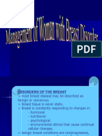 Management of Women w Breast Disorder