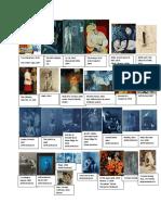 Piacasso Study Sheet