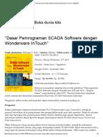 """""""Dasar Pemrograman SCADA Software Dengan Wonderware InTouch"""" _ BukuBuka"""
