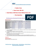 [Dec-2016] New 400-151 Exam Dumps With PDF and VCE Download