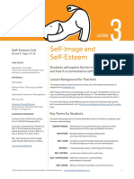 08.3 Self Esteem Unit Self Image and Self Esteem