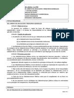 TEMA 02 - Ley 30.92-Titulo Preliminar, Titulos I y II.