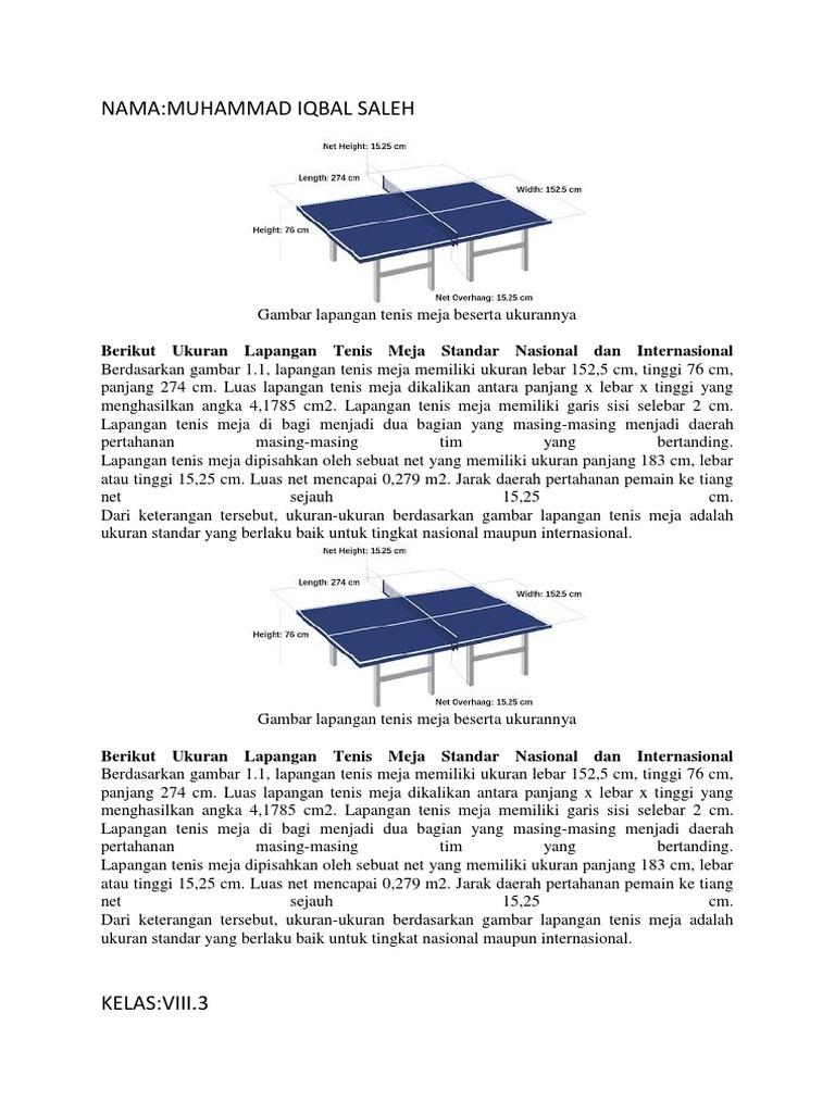 Makalah Tenis Meja