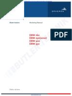 Webasto Heater DBW Range Workshop Manual (Spheros Version)
