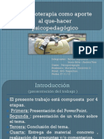 Hopoterapia PowerPoint