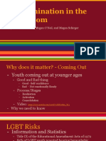 LGBTQ+ Discrimination in the Classroom