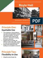 Universal Design of Campus Building Presentation