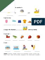 Islcollective Worksheets Beginner Prea1 Elementary a1 Kindergarten Elementary School Su Summer Ce2 8196830715818d05f3662f1 43236457