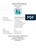 Laporan Pratikum Generator Dc Shunt