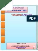 Proposal Usaha Sablon