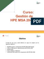 Adexus Curso Gestión Hp Msa 2040