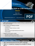 Course Systemverilog Oop for Uvm Verification Session1 Classes Drich