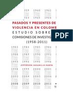 Pasados y presentes de la violencia en Colombia