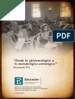 DOCUMENTO 3 de La Resignificación - Metodológico Estratégico