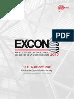 Excon2017 Brochure