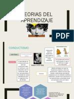 Teorias Del Aprendizaje Expo
