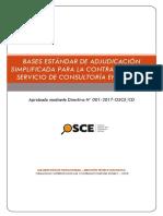 BASES PARA ADJUDICACION SIMPLIFICADA EN EL PERU
