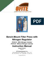 OFITE Filter Press With Nitrogen Cylinder 140-35