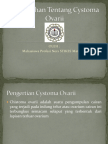 Penyuluhan Tentang Cystoma Ovarii.pptx