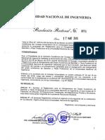 RR 0371 2016 (Reglamento Otorgamiento Grado Acad. Bachiller y Titulos)