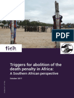 Death penalty in Africa