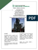 Paper de Craking Catalitico PAPERRRRR