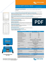 Datasheet SmartSolar Charge Controller MPPT 100 30 & 100 50 FR