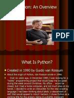 Python Overview