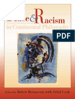Robert Bernasconi Race and Racism in Continental Philosophy 1