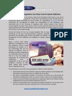 How Stringent Regulation Can Help Control Opioid Addiction