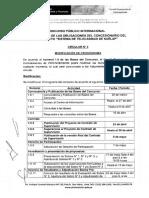 Circular 3 Modificacion de Cronograma Supervisión Kuelap