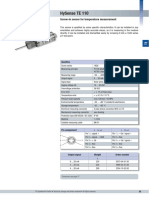 TE (PT100) Temp Sensor