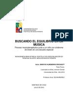 Ejemplo de Monografia - Buscando El Equilibrio en La Musica - Marcos Almendras
