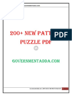 200 New Pattern Puzzle